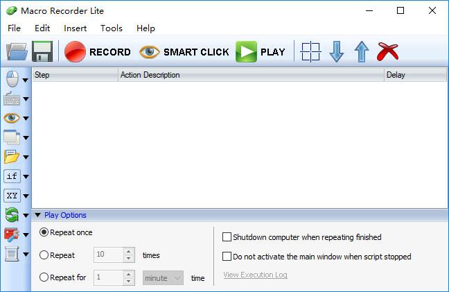Macro Recorder Lite screenshot - Windows 8 Downloads